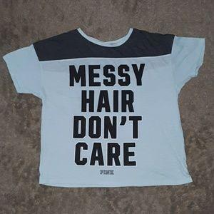 Victoria's Secret Messy Hair Shirt